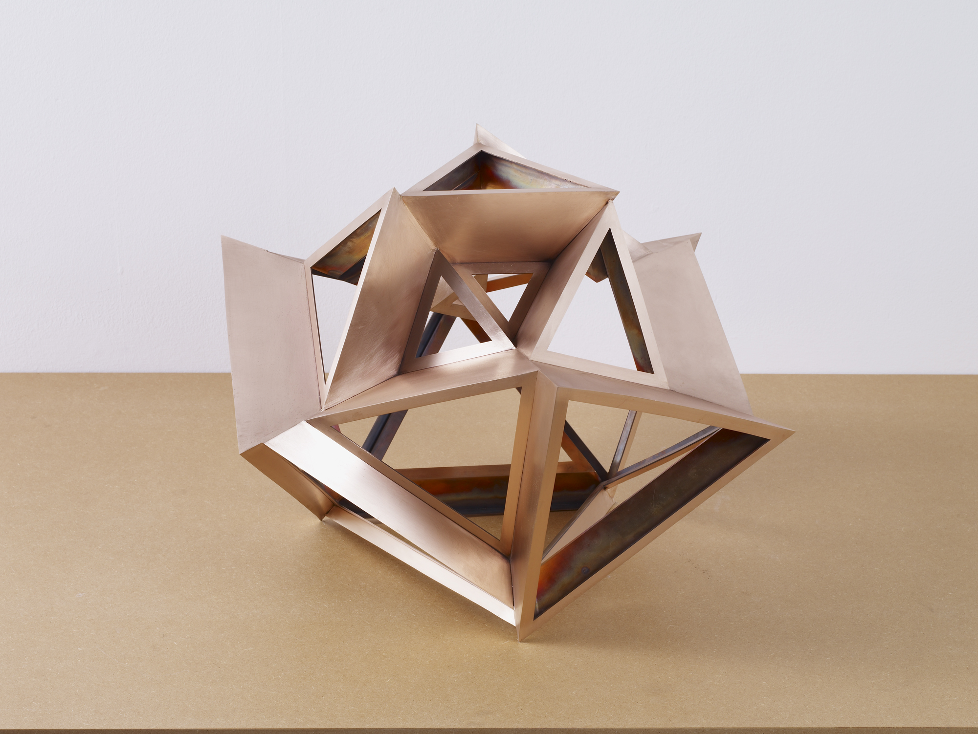CS240_Perimeter Studies (Icosahedron) no.2 of Set 1_2011