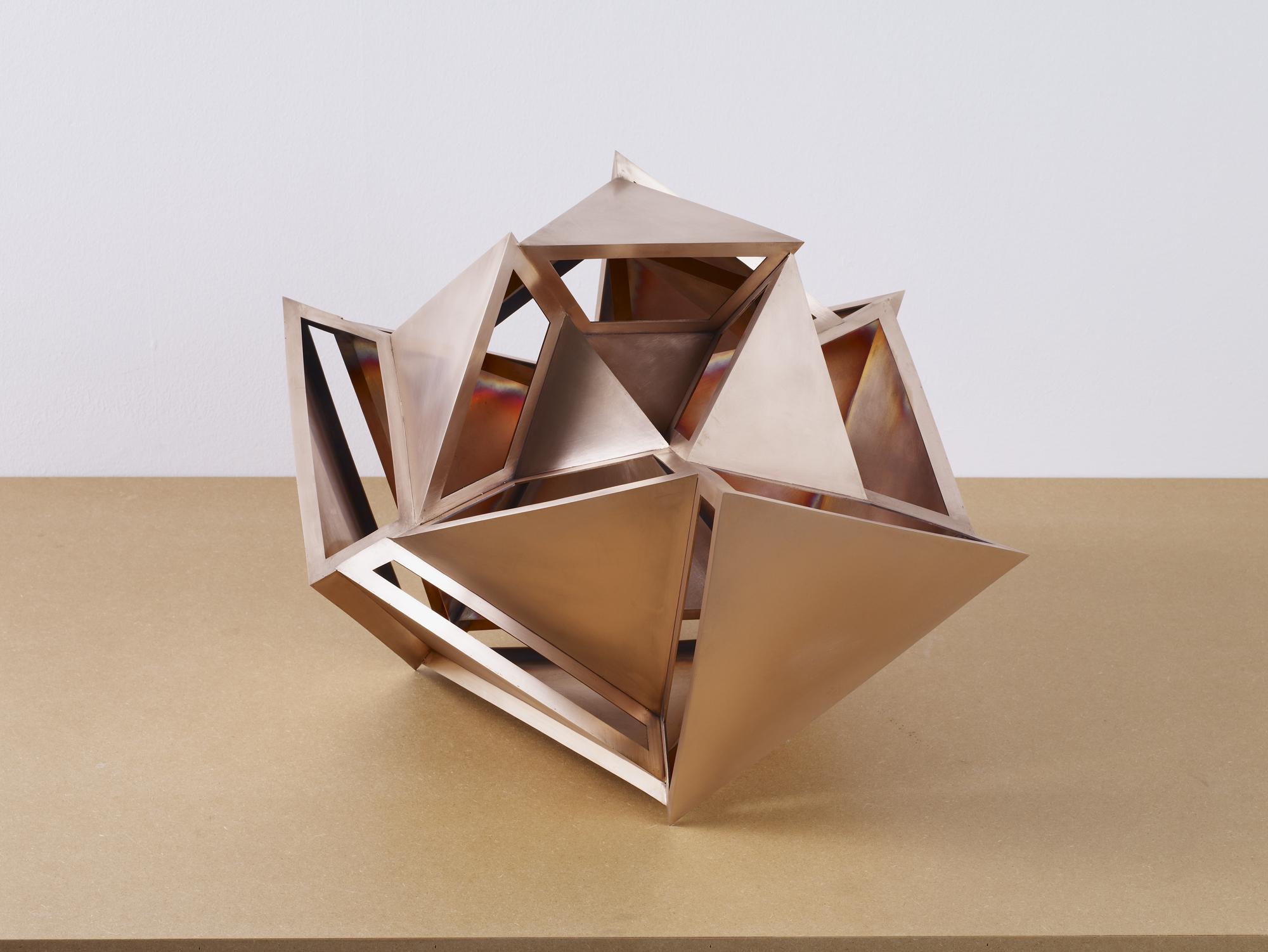 CS241_Perimeter Studies (Icosahedron) No.3 of Set 1_2011