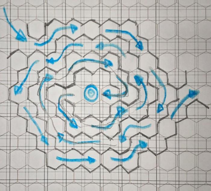 Optic Labyrinth - CS Sketch